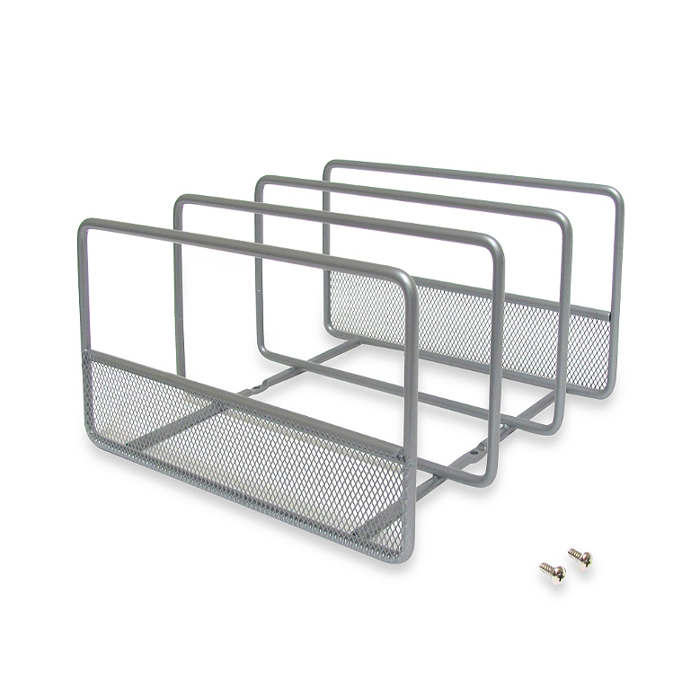 Kitchen Organization: Tray dividers from Bed Bath and Beyond | Inspired Haven blog