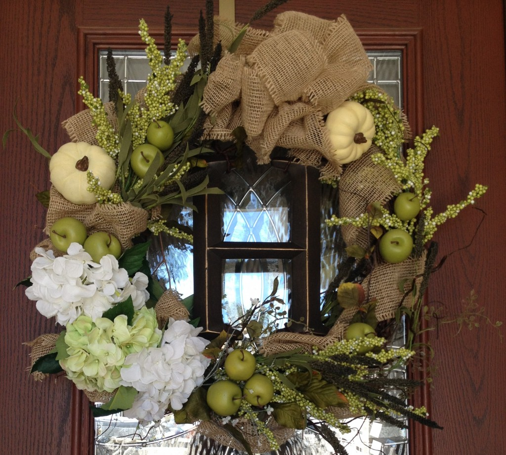 How to DIY a fall wreath for your front door