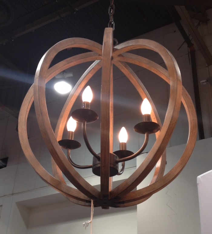 Orb lights are still popular, IBS 2015. Sea Gull Lighting.