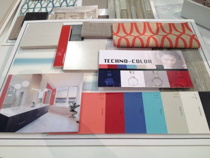 Optimistic spring colors make for happy interiors, #KBIS 2015 |Inspired Haven