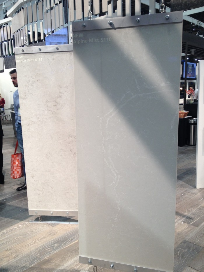 Several new Caesarstone colors debuted at KBIS 2015