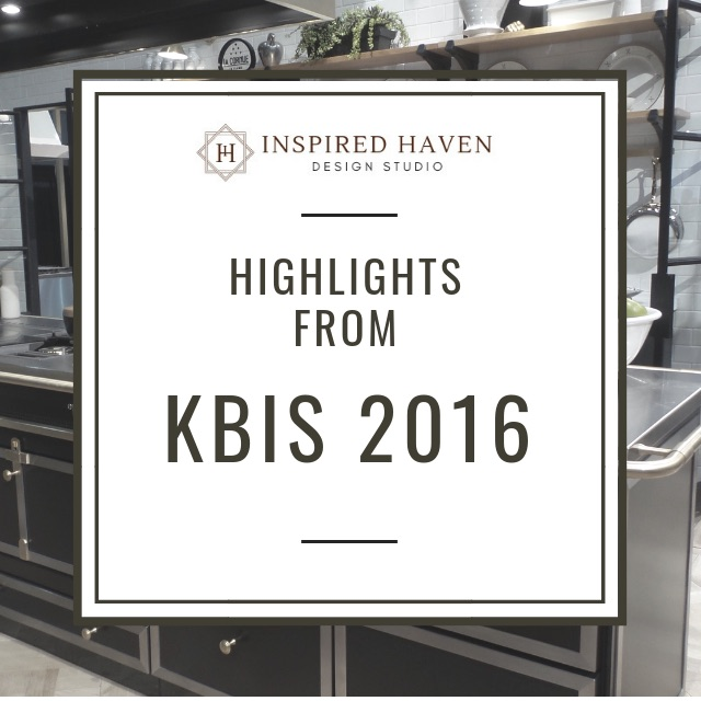 The insider scoop on the 2016 Kitchen and Bath Industry Show - and what trends we are likely to see in the future!