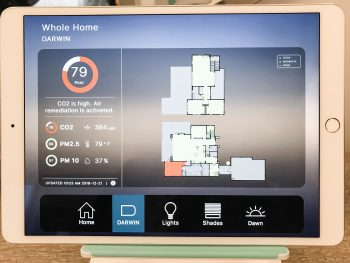 Darwin smart home monitoring system for a healthy home