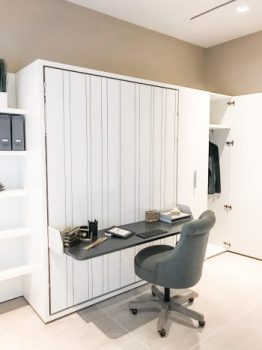 Guest room / office with Murphy bed