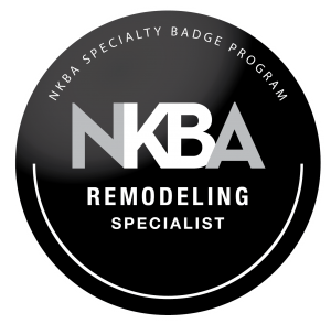 NKBA Remodeling Badge - an industry credential that recognizes experts in remodeling
