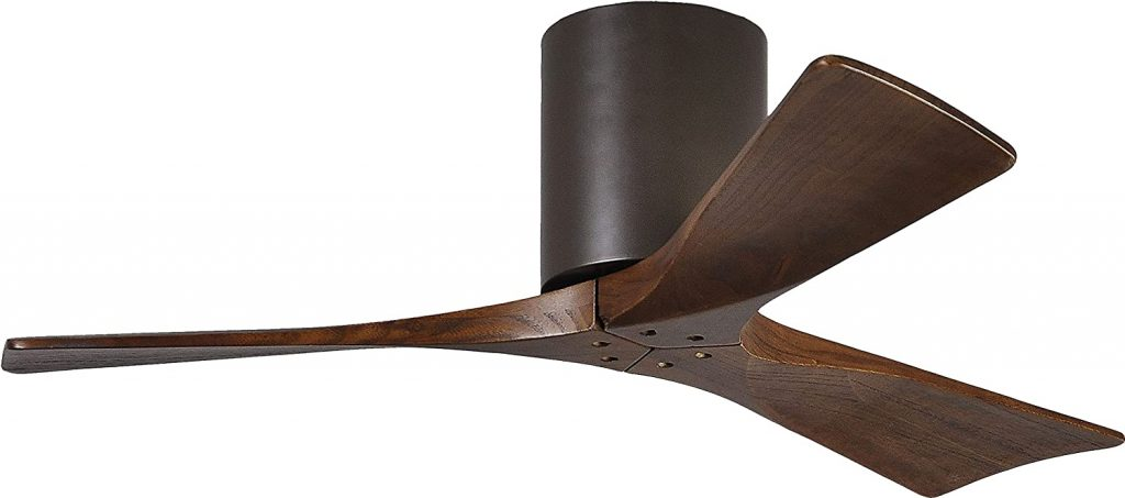 3 Blade Walnut Ceiling Fan