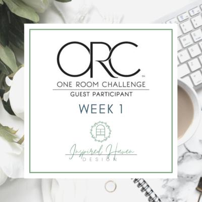 One Room Challenge Week One – Spring 2020
