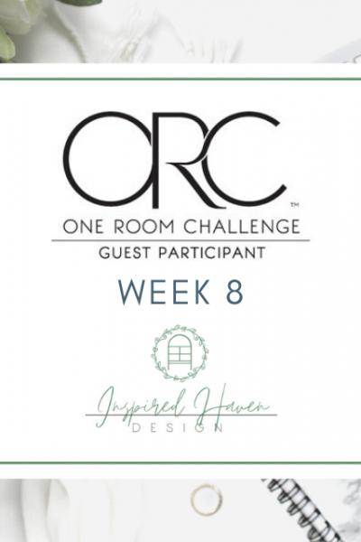 One Room Challenge Week 8 Title Image