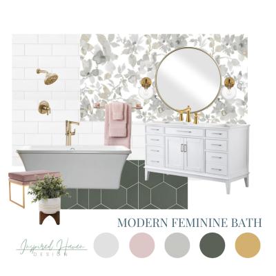 Shop the Look – Modern Feminine Bath