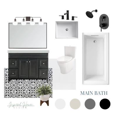 Shop the Look: Modern Farmhouse Bath